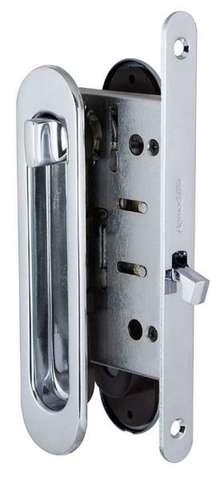 Ручка с заверткой для раздвижных дверей SH011-BK СP-8