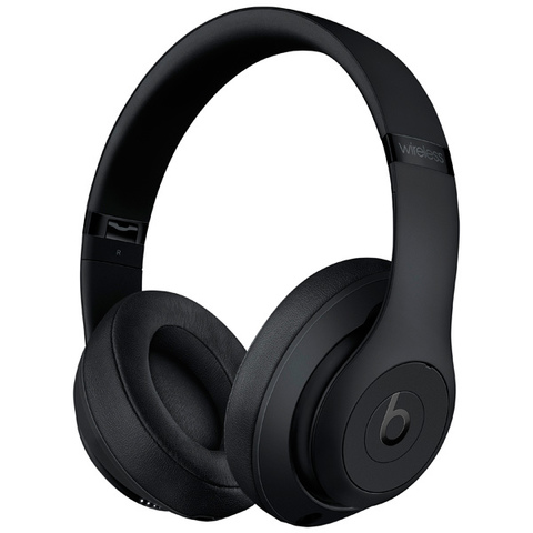 Наушники Bluetooth Beats Studio3 Wireless Matte Black / Черный (MQ562ZE/A)