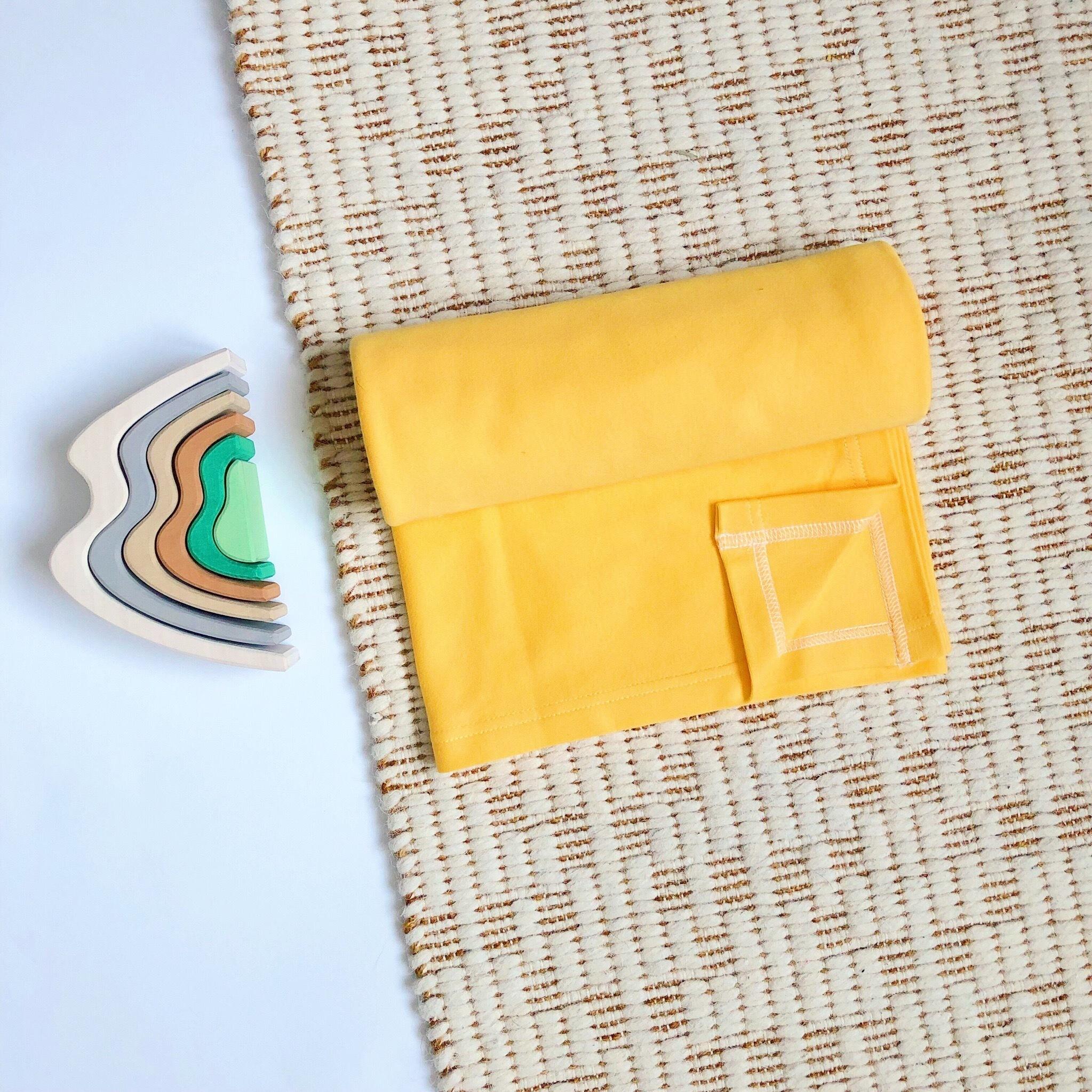 Плед-пелёнка Mjölk Minion Yellow