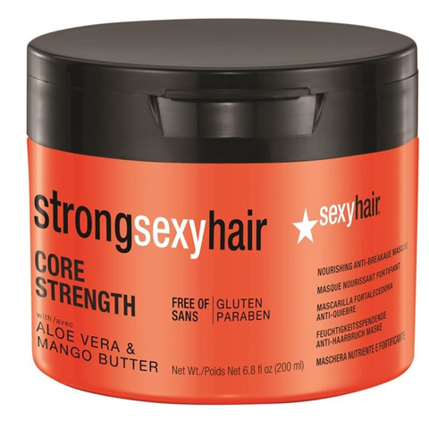 Sexy Hair Strong: Маска восстанавливающая для прочности волос (Core Strength Nourishing Anti-breakage Masque), 200мл