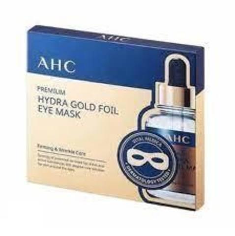 AHC Premium Hydra Gold Foil Eye Mask 5pcs