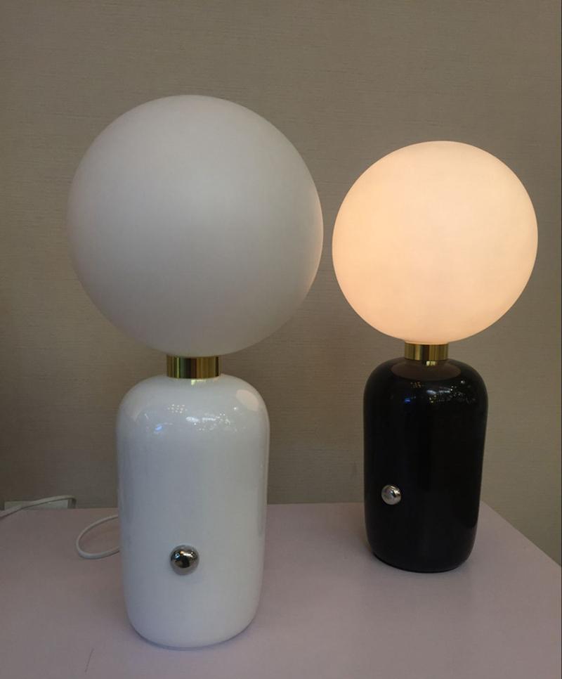 Настольный светильник Aballs  by Parachilna D18 (золтой)