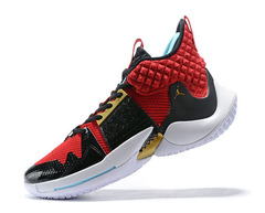 Jordan Why Not Zer0.2 'Black/Red'