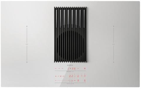 Индукционная варочная панель со встроенной вытяжкой Elica NikolaTesla LIBRA WH/A/83