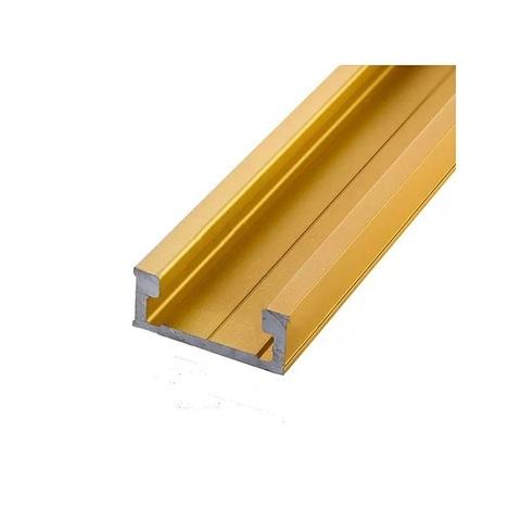 Профиль-шина 30,4 мм, анод, золото матовое, 1 м