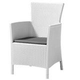 Плетеное кресло под ротанг Allibert Montana