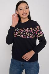 <p><span>Практичный свитшот для современной дамы. ( Длина свитшота/ длина рукава: Все размеры-61см/62см)</span></p>