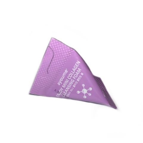 Ayoume пенка для умывания с коллагеном  в треугольниках