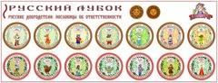 Развивающий набор наклеек «Русские добродетели: пословицы об ответственности»