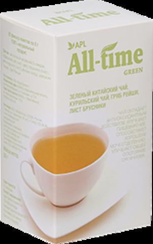 APL. Зеленый чай All-Time Green антиоксидантный