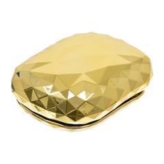 Расческа «Кристалл» пластиковая, массажная с крышкой, 9х6,4х4 см