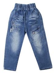 F012 джинсы для мальчиков, синие