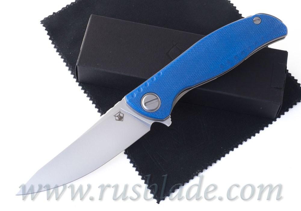 Shirogorov F3 NS M398 Blue Micarta