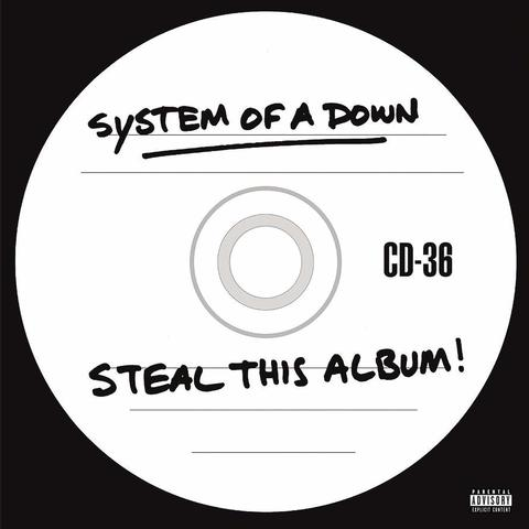 Виниловая пластинка. System Of A Down — Steal this Album