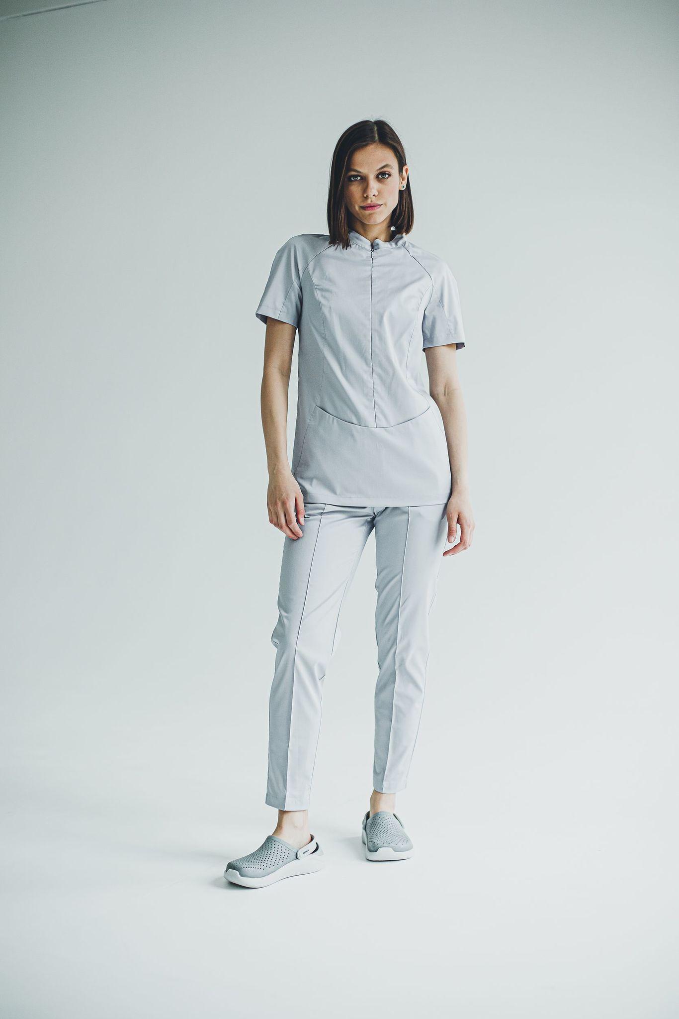 Блуза женская медицинская М 283