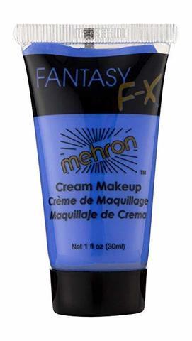 MEHRON Грим на водной основе Fantasy FX,  Blue (Синий), 30 мл