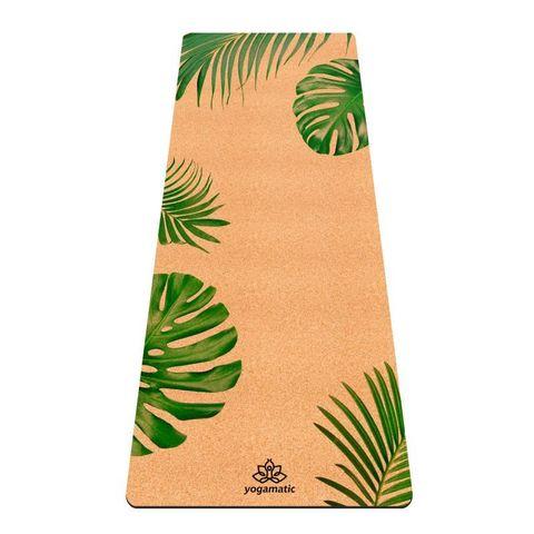 Пробковый йога коврик Tropic 183*66*0,4 см