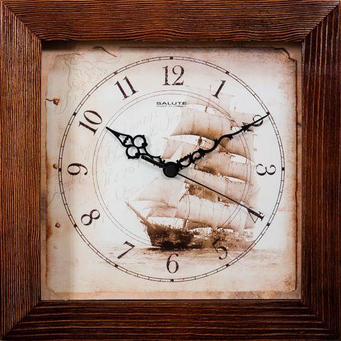 Настенные часы Салют ДС-2АС28-176 Парусник