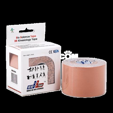 BBtape кинезио тейп 5см х 5м (бежевый)1