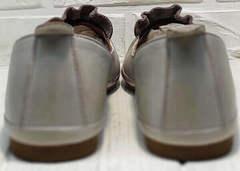 Турецкие балетки лодочки туфли без каблука Wollen G036-1-1545-297 Vision.