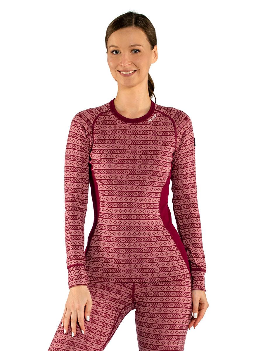 Devold термобелье футболка Alnes Woman Shirt Foxglove