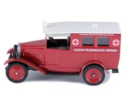 AMO-F-15 Ambulance USSR 1:43 DeAgostini Service Vehicle #32
