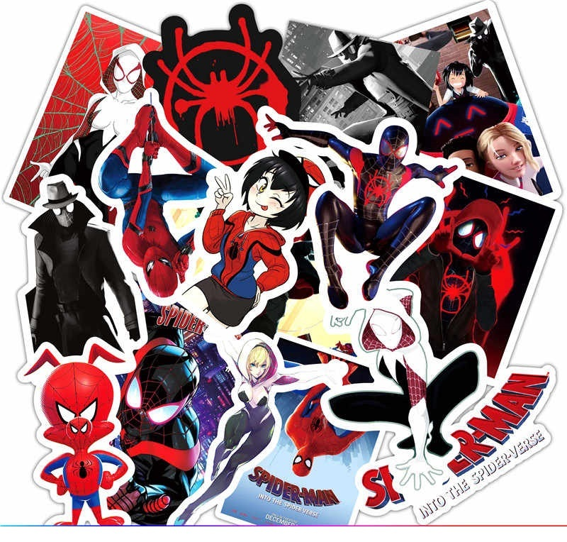 Супергерои набор наклеек 52 штук