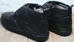 Черные зимние ботинки мужские Rifellini Rovigo C8208 Black