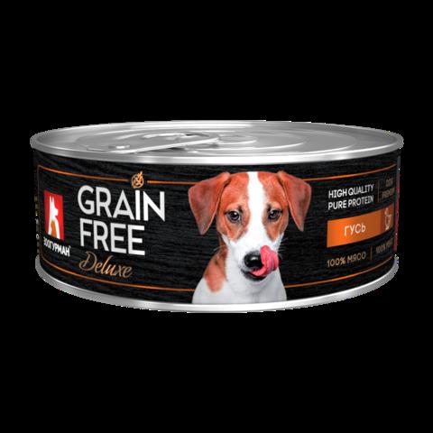Зоогурман Grain Free Консервы для собак с гусем