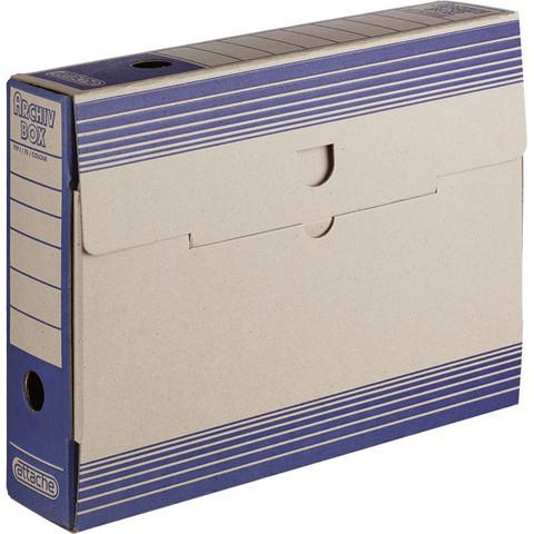 Короб архивный Attache картон синий 256х75х322 мм