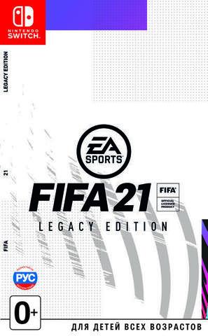FIFA 21 Legacy Edition (Nintendo Switch, русская версия)