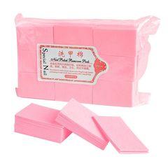 Special Nail, Салфетки безворсовые, розовые, 900 шт