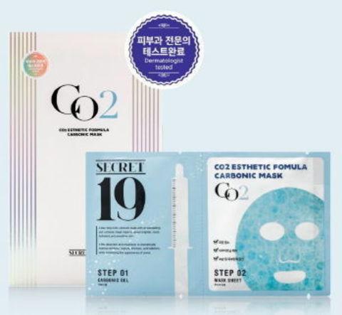 КАРБОКСИТЕРАПИЯ Маска-активатор SECRET19 CO2 Esthetic Formula Carbonic Mask, 1 шт ESTHETIC HOUSE