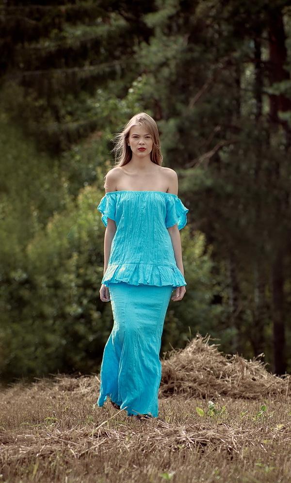 Леся. Блуза женская. BL-4345