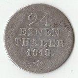 1818 SR1815 Германия 1/24 талера Серебро