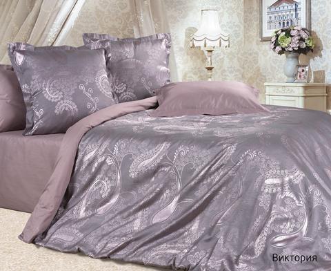Жаккардовое постельное бельё 1,5 спальное, Виктория