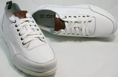Модные кроссовки для мужчин Faber 193909-3 White.