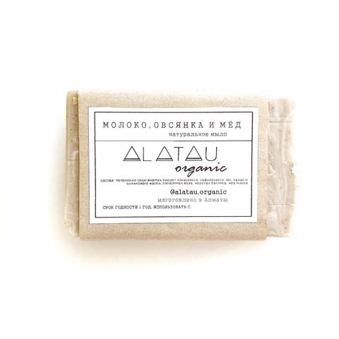 Мыло Молоко, мёд и овсянка (Alatau Organic)