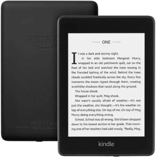 Amazon Kindle PaperWhite Электронная книга Amazon Kindle PaperWhite 2018 8GB Black (черный) 1.jpg