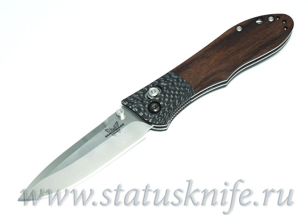 Нож Benchmade 733-01 Ares CF Wood Prototype