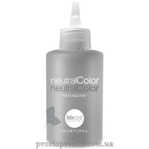 BBcos Neutral Color Refix & Stay - Засіб для нейтралізації аміаку