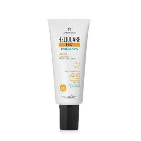HELIOCARE 360º PEDIATRICS LOTION SUNSCREEN SPF 50 (CANTABRIA LABS) – СОЛНЦЕЗАЩИТНЫЙ ЛОСЬОН ДЛЯ ДЕТЕЙ SPF 50
