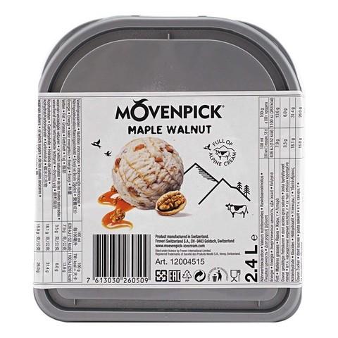 Мороженое с грецким орехом и кленовым сиропом Мовенпик 2,4 литра (Швейцария)