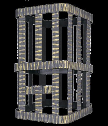 Сетка на трубу для Ураган (250х250х320) Гефест ЗК 18/25/30, Гром 30 под шибер