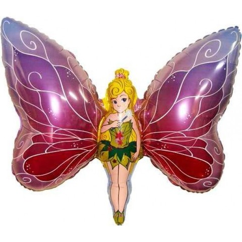 Фольгированный шар Фея бабочка