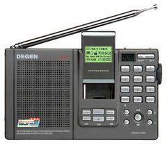 Радиоприемник  Degen DE-1121