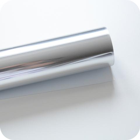 Термотрансферная пленка зеркальная серебро  25х25 см