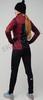 Элитный утеплённый лыжный костюм Nordski Pro Wine-Black женский