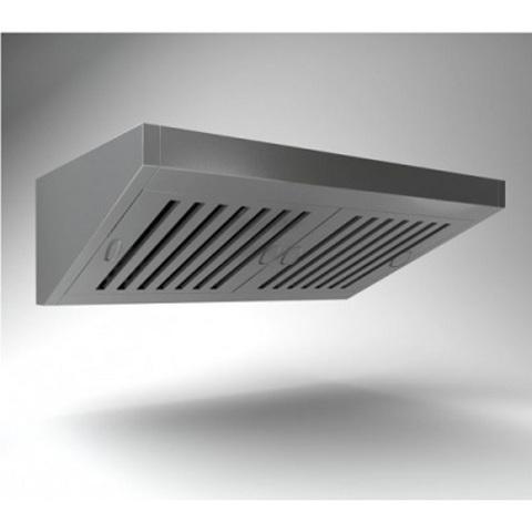 Зонт вентиляционный пристенный ВЗП-9-9  900х900х450h