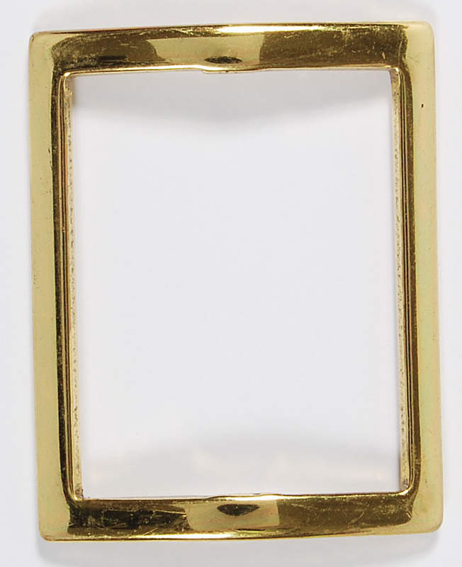 Рамочка-пряжка для скрапбукинга 4,5х3,8 см